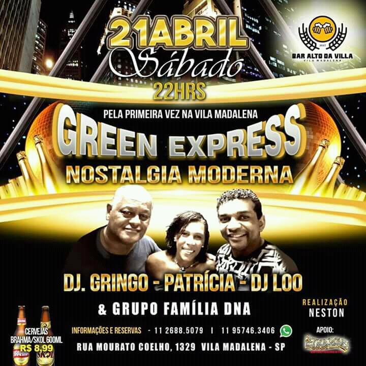 Green Express leva nostalgia moderna para a Vila Madalena #nota