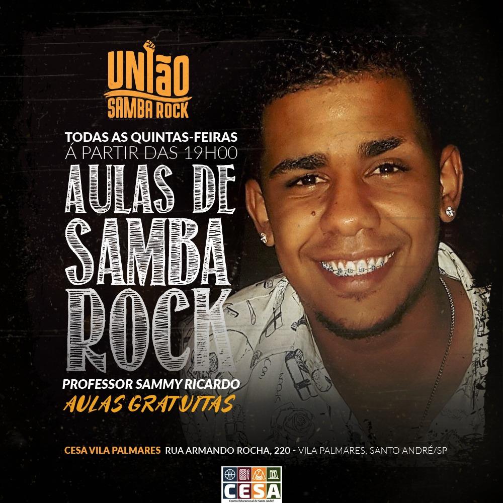 União Samba Rock promove aulas no ABC com professor Sammy #nota