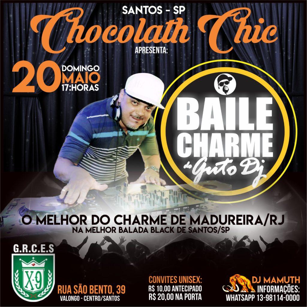 Baixada Santista receberá Baile Charme do Guto DJ  #nota