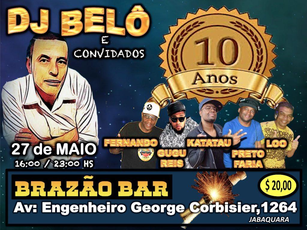 DJ Belô e convidados em baile no Jabaquara; Região sul de SP #nota
