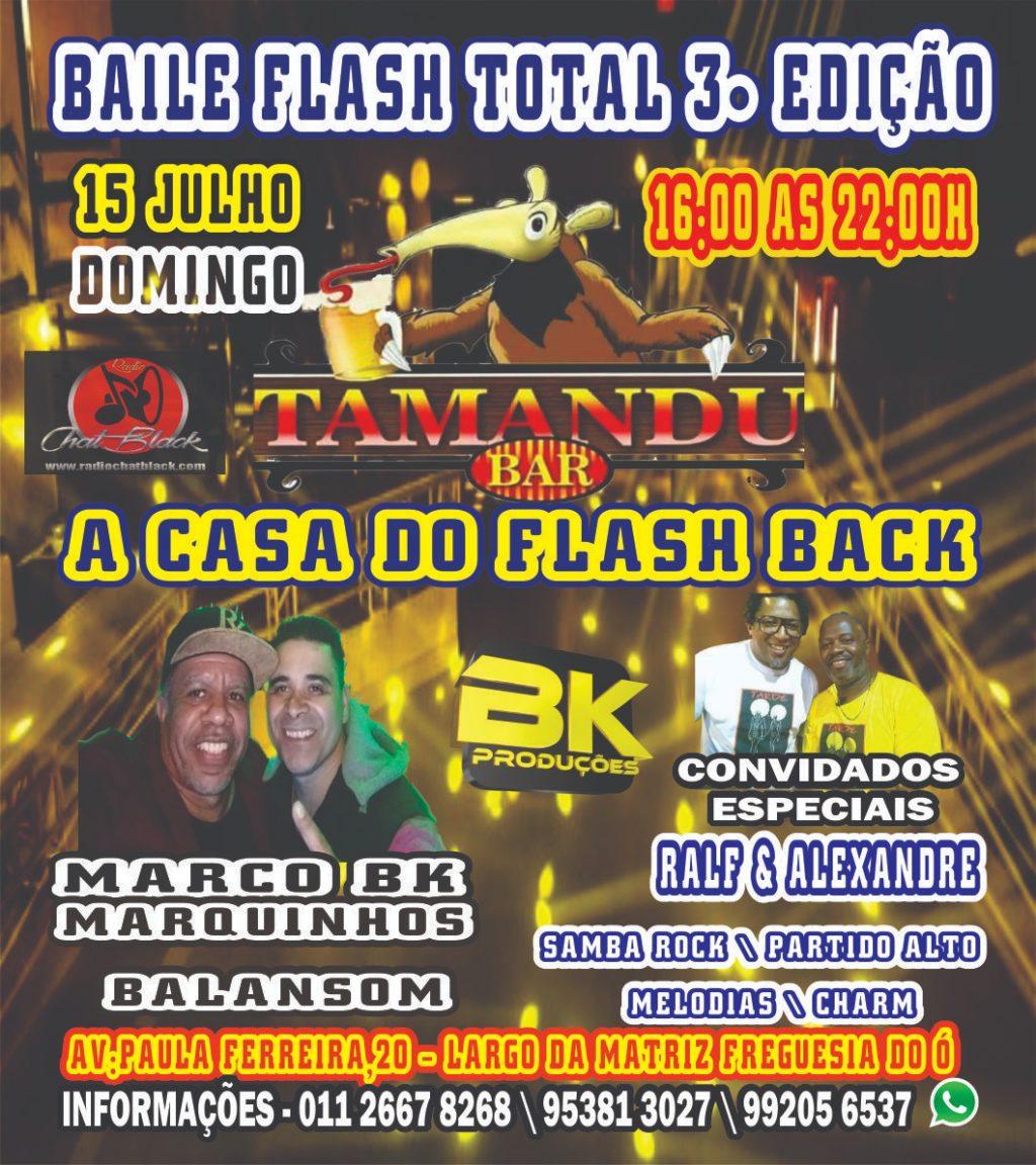 Baile Flash Total terceira edição acontecerá na Freguesia do Ó #nota