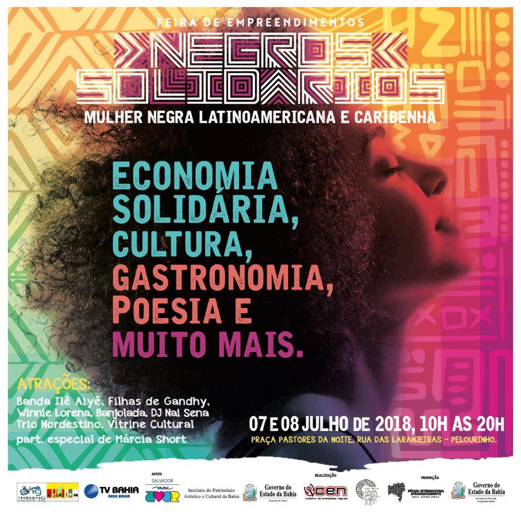 Vem aí a Feira de Empreendimentos Negros Solidários #nota