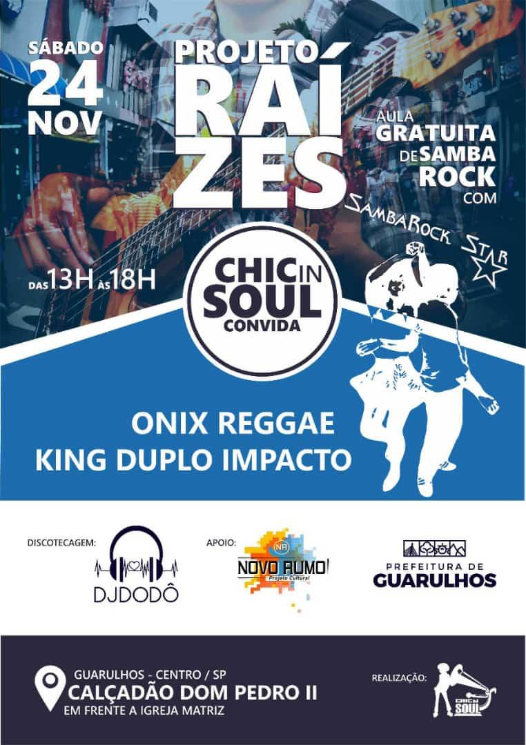 Projeto Raízes tem aula gratuita de samba rock e baile #nota